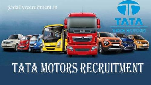 TATA Motor Recruitment 2020