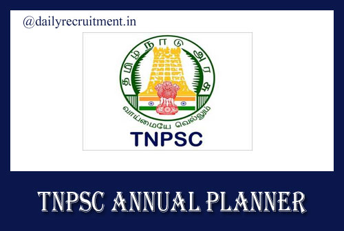 TNPSC Annual Planner 2020-2021