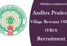 AP VRO Recruitment 2020