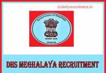 DHS Meghalaya Recruitment 2019