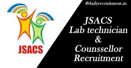 JSACS Recruitment 2020