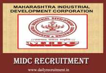 MIDC Recruitment 2019