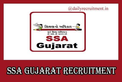 SSA Gujarat Recruitment