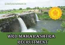 WRD Maharashtra Recruitment 2019