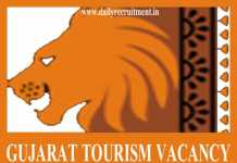 Gujarat Tourism Vacancy 2019