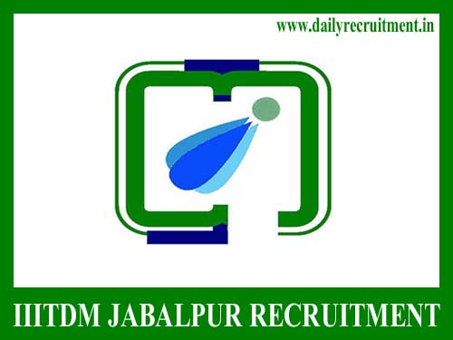 IIITDM Jabalpur Recruitment 2019