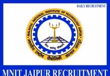 MNIT Jaipur Recruitment 2019