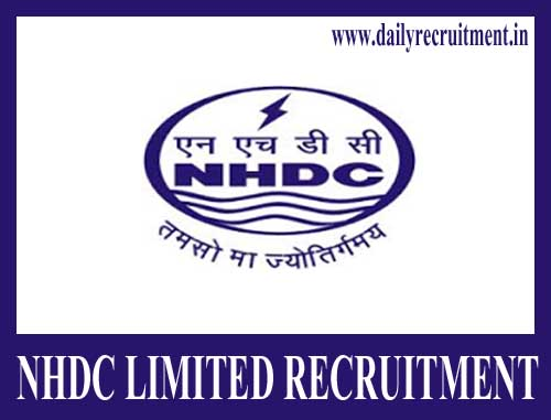 NHDC Limited Recruitment 2020