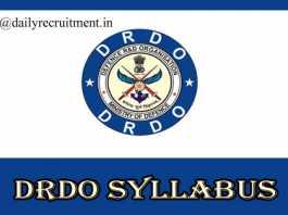 DRDO Syllabus 2019