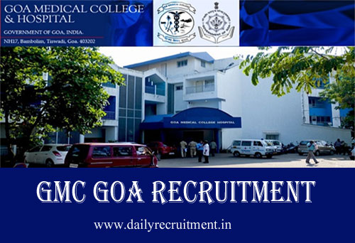 Gmc Goa Recruitment 2019 Apply For 1077 Group C Staff Nurse Mts Ldc Other Vacancies Gmc Goa Gov In
