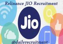 Reliance JIO Recruitment 2019