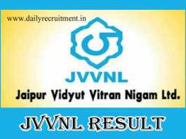 JVVNL Helper 2 Result 2019
