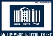 MGAHV Wardha Recruitment 2019