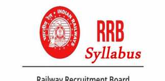 RRB Group D Syllabus 2019