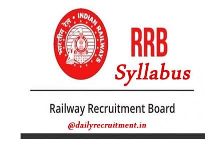 RRB Group D Syllabus 2019