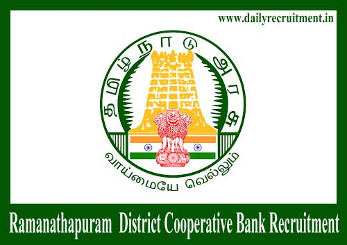 Ramanathapuram District Cooperative Bank Recruitment 2019