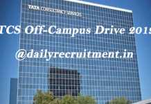 TCS Off-Campus Placement Drive 2019