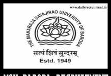 MSU Baroda Recruitment 2019