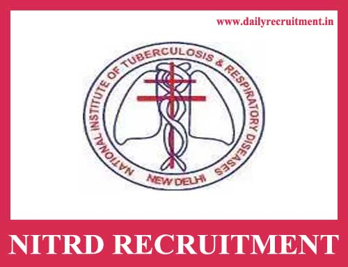 NITRD Recruitment 2020