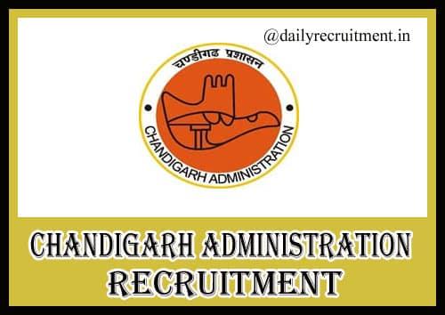 Chandigarh Administration Recruitment 2020