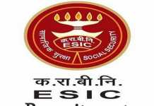 ESIC Puducherry Recruitment 2019