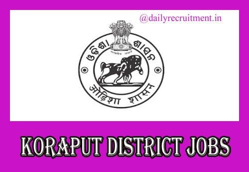 Koraput District Jobs 2020