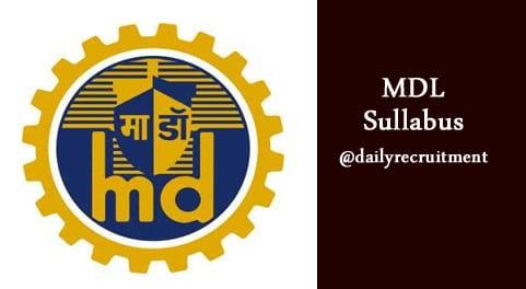 MDL Syllabus 2019