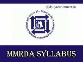 MMRDA Non Executive Syllabus 2019