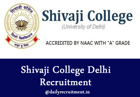 Shivaji College Delhi Recruitment 2019