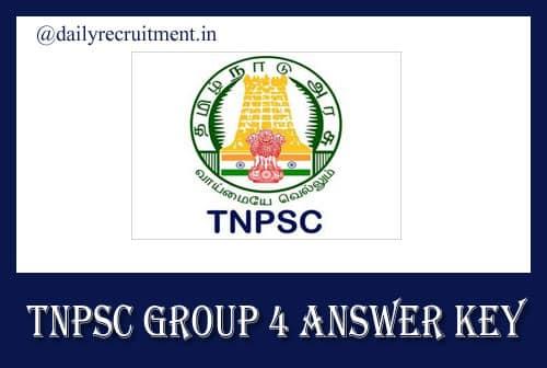TNPSC Group 4 Answer Key 2019