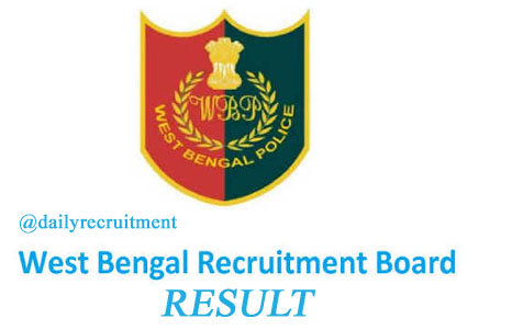 WB Police Constable Result 2020