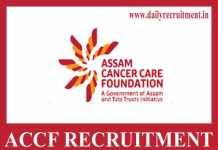 ACCF Recruitment 2019