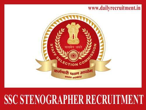 SSC Stenographer Recruitment 2020