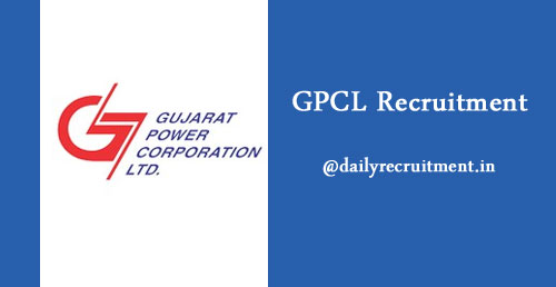 GPCL Recruitment 2019