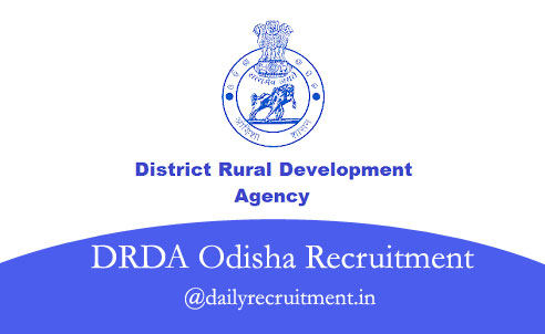 DRDA Odisha Recruitment 2020