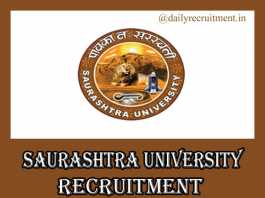 Saurashtra University Recruitment 2019