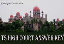 TS High Court Answer Key 2019