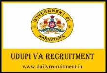 Udupi VA Recruitment 2019