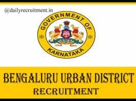 Bengaluru Urban District Jobs 2020