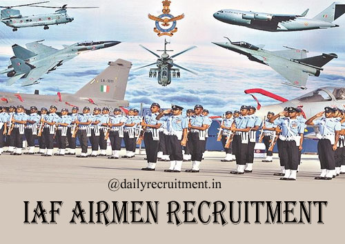 IAF Airmen Recruitment 2020