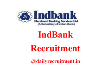 IndBank Recruitment 2021