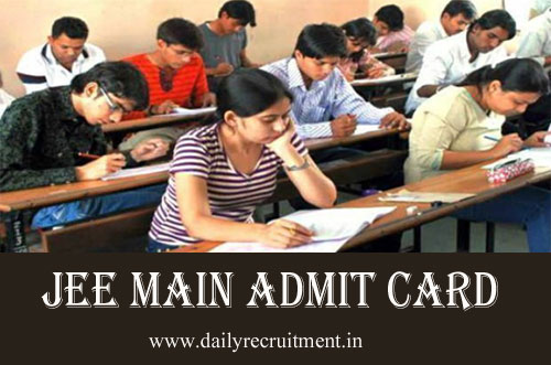 JEE Main March Attempt Admit Card 2021