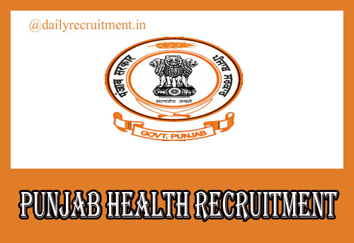 Punjab Health Recruitment 2020