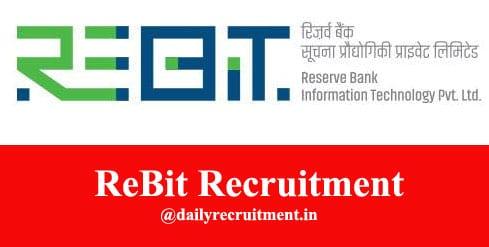 ReBit Recruitment 2021