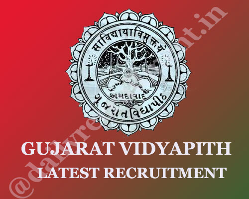 Gujarat Vidyapith recruitment 2020