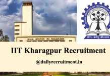 IIT Kharagpur Recruitment 2020