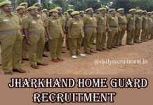 Jharkhand Home Guard Recruitment 2020
