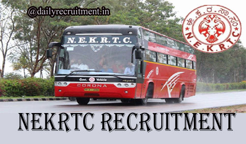 NEKRTC Recruitment 2020