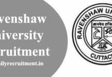 Ravenshaw University Recruitment 2020