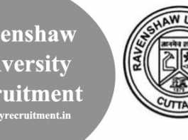Ravenshaw University Recruitment 2020